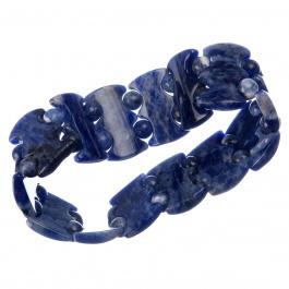 Bracciale elastico in Sodalite