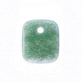 Ciondolo Unisex in Avventurina Verde levigata