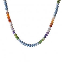 Collana Corta di Opale ed Ag 925