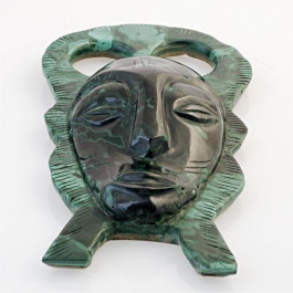 Maschera in Malachite