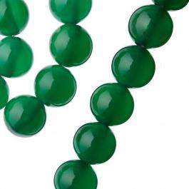 Agata Verde - sfera liscia da 12mm