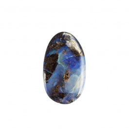 Cabochon di Opale Boulder - Irregolare 3.0x1.9x0.7 cm