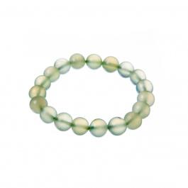 Bracciale Elastico a Sfere da 10mm di New Jade