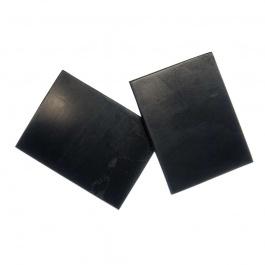 Piastrina rettangolare per cellulare in Shungite 40 x 30 mm - 1 pz.
