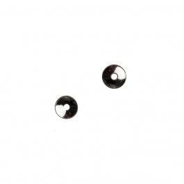 Coppetta liscia in Argento 925 - diametro 0.4 cm - 10 pz.