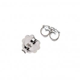 Elemento per orecchini in Argento 925 - 0.5 x 1 cm - 2 pz.