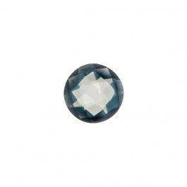 Gemma di Quarzo Rosa - 3.04 carati - Tondo 1 cm diametro