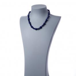 Collana con elementi a goccia di Lapislazzuli
