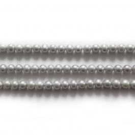 Perla colorata Grigia -  6 mm