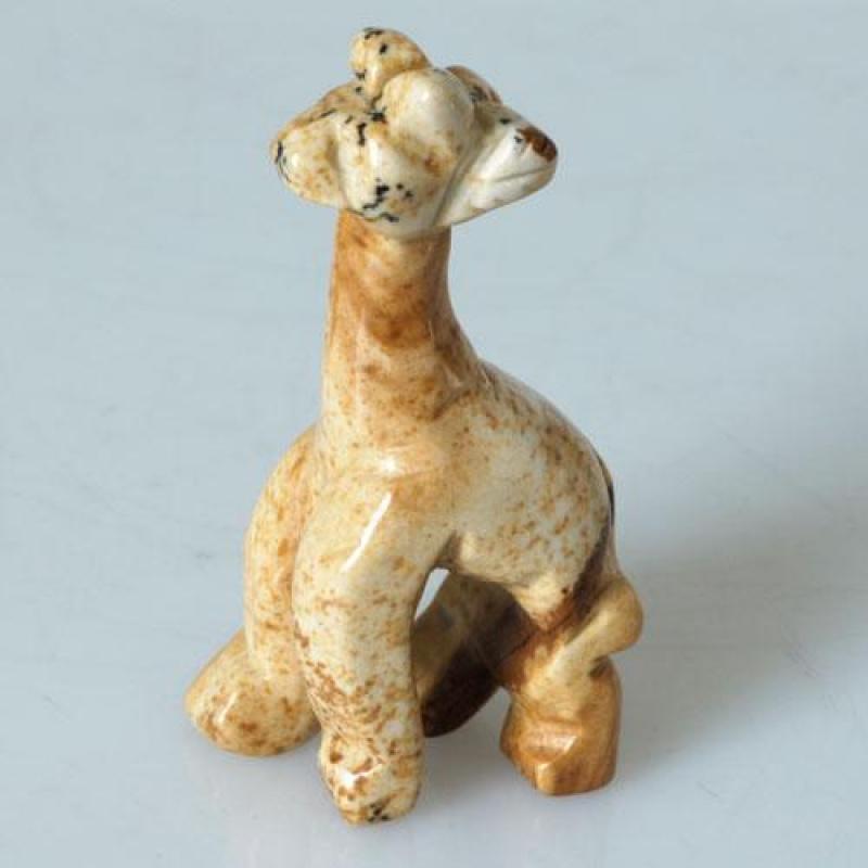 Giraffa in Pietra Paesina