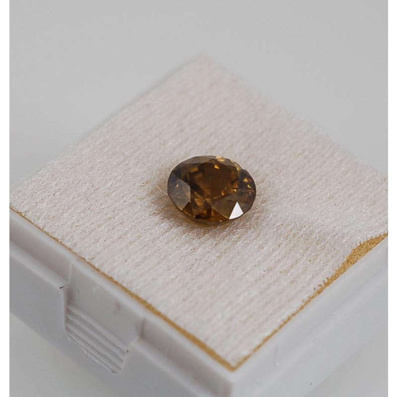 Gemma di Zircone - Taglio Brillante - Tondo 0.95x0.95x0.65