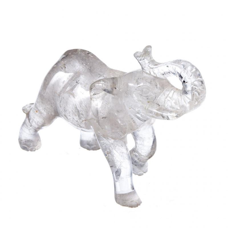 Elefante in Cristallo di Rocca