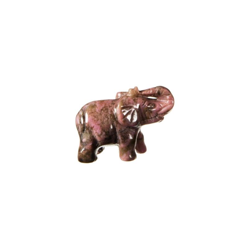 Elefante in Rodonite