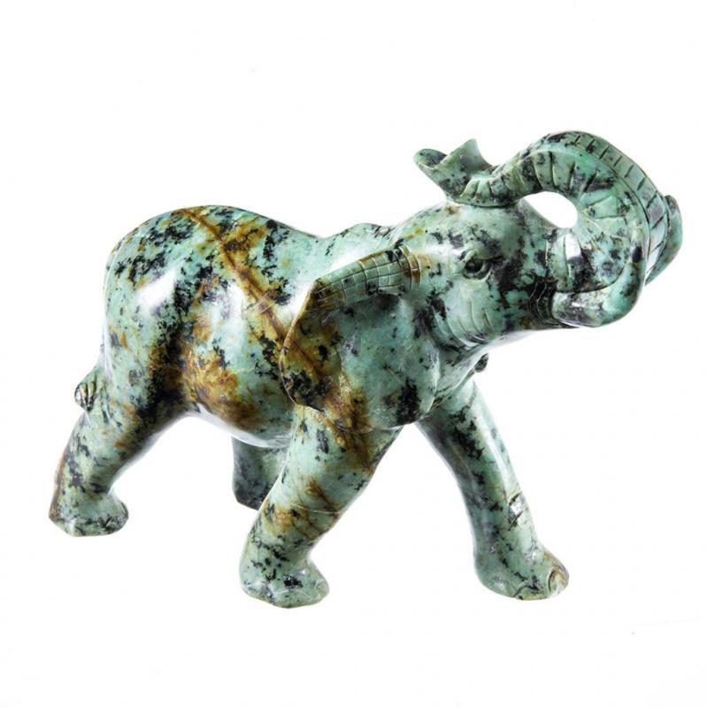 Elefante in Turchese