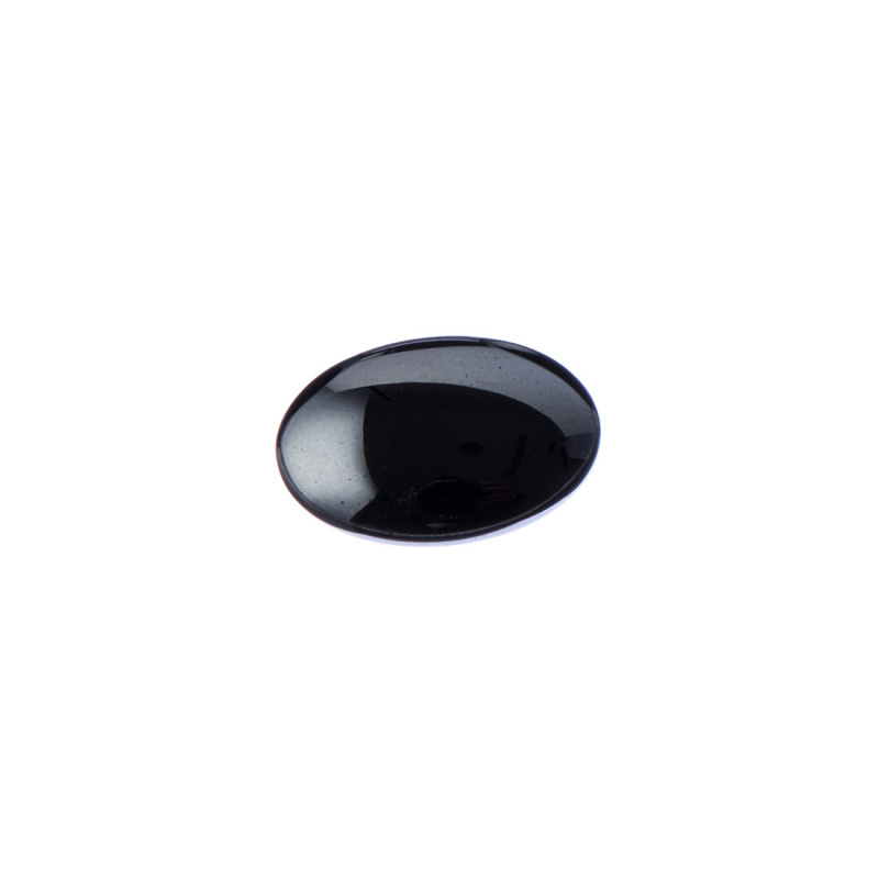 Cabochon in Ematite - Ovale 1.6x1.2x0.4 cm