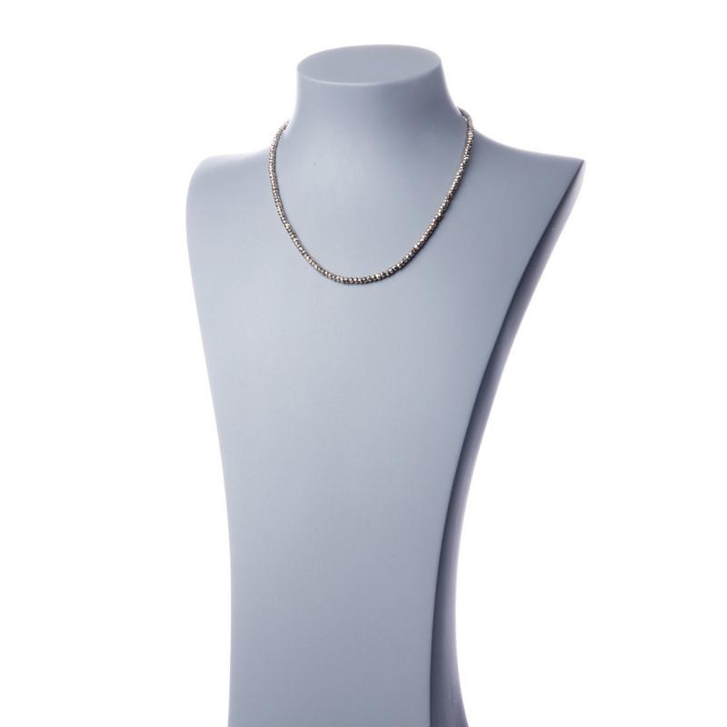 Collana di Pirite Grado A e Argento 925 dorato