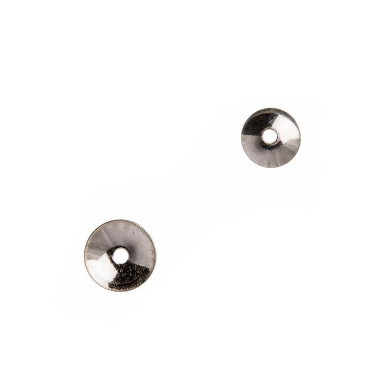 Coppetta liscia in Argento 925 - diametro 0.6 cm - 10 pz.