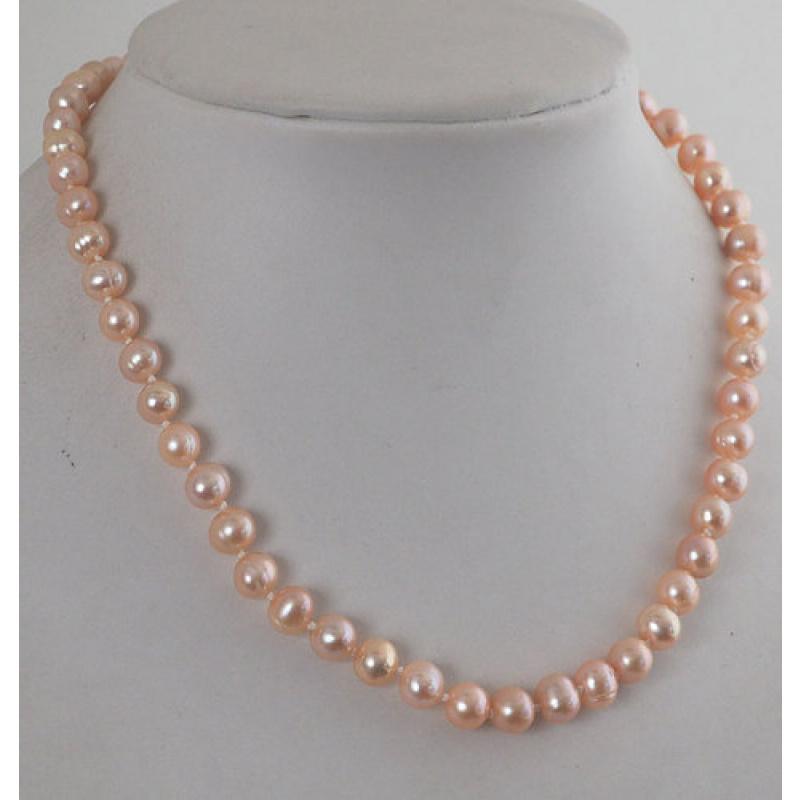 Collana Corta di Perle d'acqua dolce