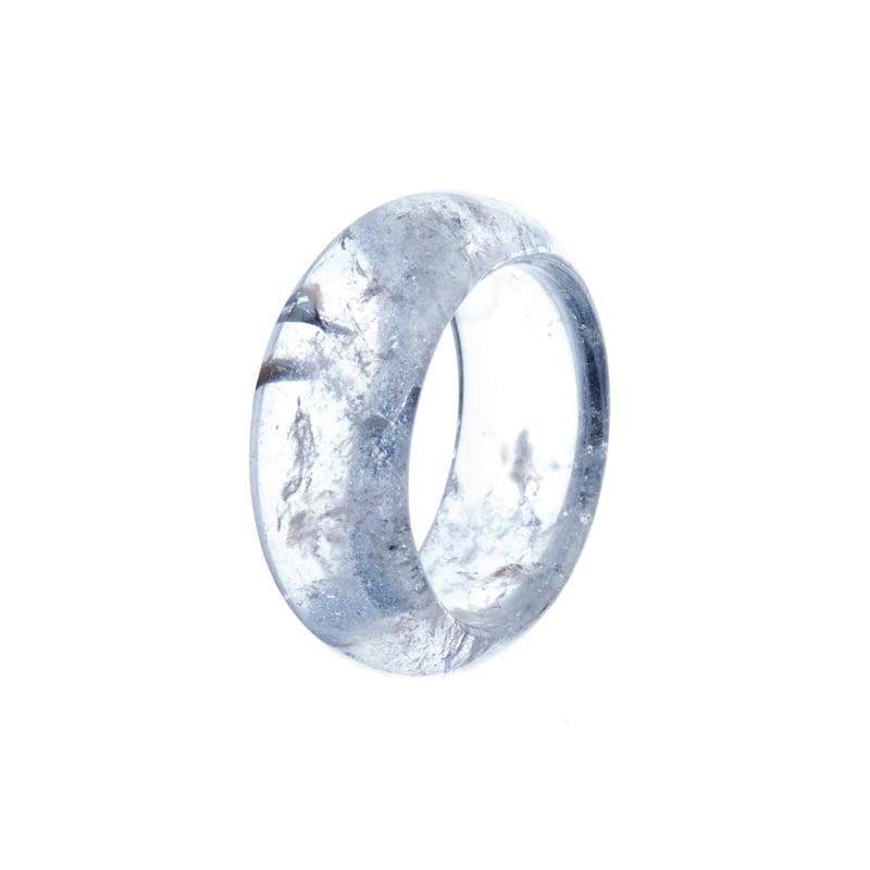 Anello All Stone in Cristallo di Rocca - Medium