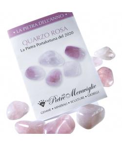 Quarzo Rosa - La Pietra dell'anno 2020 (1 pz.)