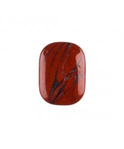 Diaspro Rosso piatto, liscio e burattato - saponetta