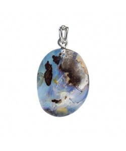 Ciondolo Opale Boulder e Argento 925