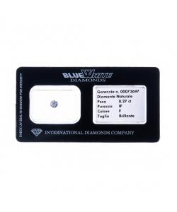 Diamante garantito con Gift Box - F/IF - da 0,05 a 0,10 carati
