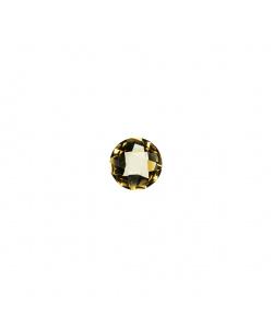 Gemma di Quarzo Citrino - 0.8 carati - Tondo 0.6 diametro
