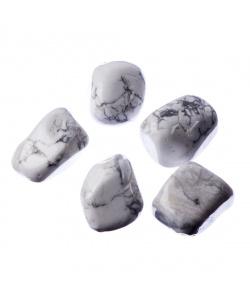 Howlite/Magnesite burattata