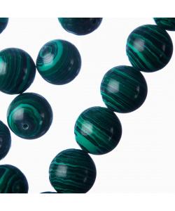 Malachite Sintetica - sfera liscia da 14mm