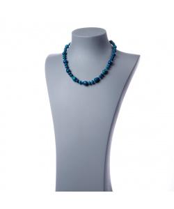 Collana con elementi a goccia di Agata Blu
