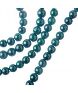 Malachite Sintetica - Filo di sfere lisce da 6mm