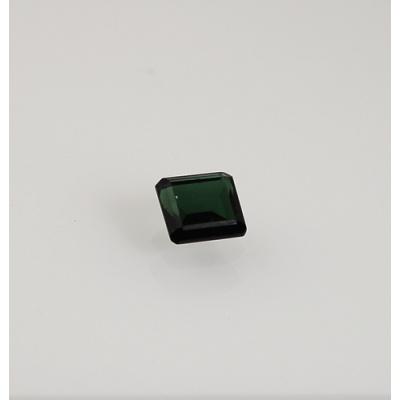 Gemma di Tormalina Verde - Taglio a Gradini - Quadrata 0.74x0.8x0.4