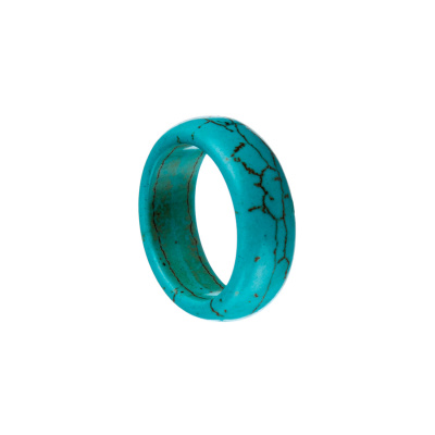 Anello All Stone in Pasta di Turchese - Medium