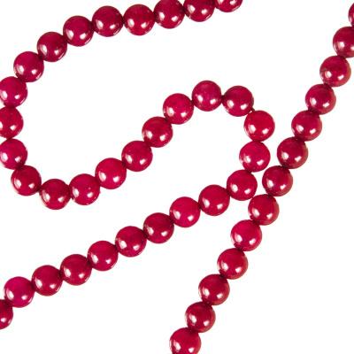 Radice Di Rubino - Filo di sfere lisce da 4 mm