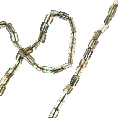 Labradorite - filo di elementi rettangolari
