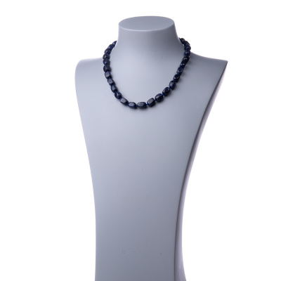 Collana corta in Sodalite e Argento 925 - 48 cm