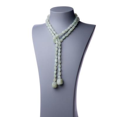 Collana Lunga a sciarpa di New Jade