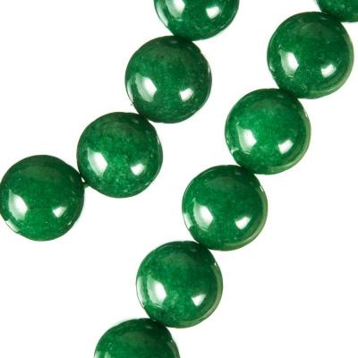 Radice Di Smeraldo - Filo di sfere lisce - 12mm