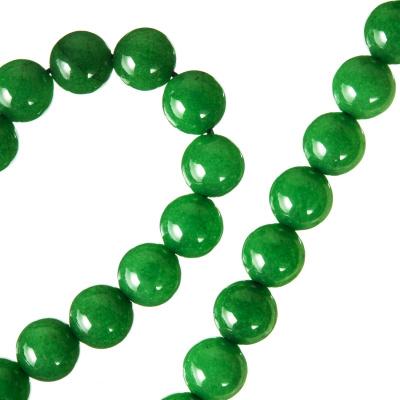 Radice Di Smeraldo - Filo di sfere lisce - 8mm