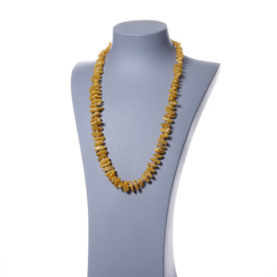 Collana di Elementi Irregolari di Ambra