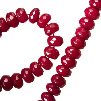 Radice Di Rubino - Filo di rondelle sfaccettate - 0.8 cm