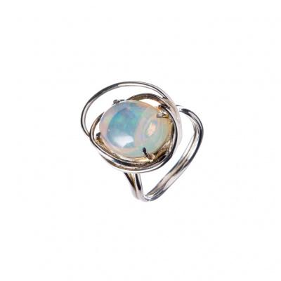 Anello di Opale Crystal e Argento 925
