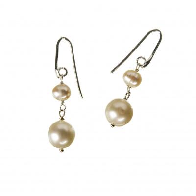 Orecchini di Perle e Argento 925