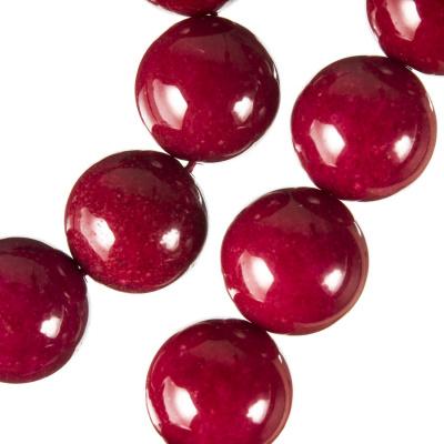 Radice Di Rubino - Filo di sfere lisce da 16 mm