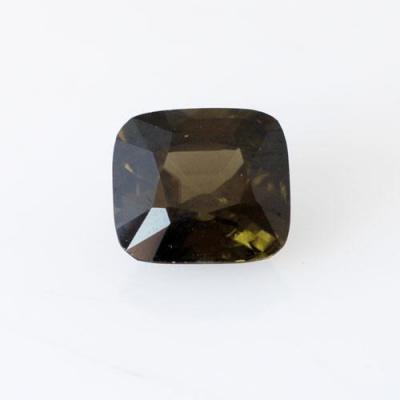 Gemma di Zircone Verde 1.0x1.0x0.65