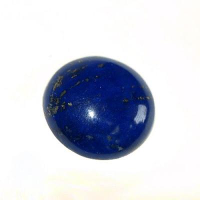 Cabochon in Lapislazzuli - Tondo 1.8x1.8x0.5