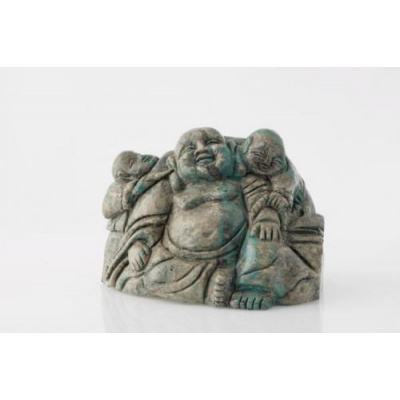 Budda con bambini in Turchese