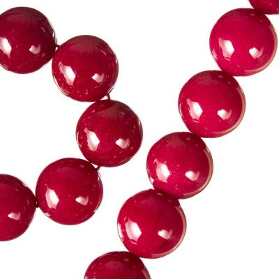 Radice Di Rubino - Filo di sfere lisce da 12 mm