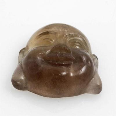 Volto del Budda in Fluorite